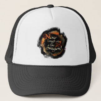 SMAUG™ - Never Laugh Logo Graphic Trucker Hat