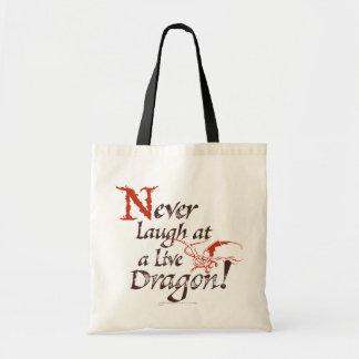 SMAUG™ - Nunca ríase de un dragón vivo Bolsa Tela Barata