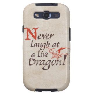 SMAUG™ - Nunca ríase de un dragón vivo Samsung Galaxy S3 Carcasas