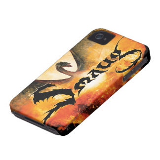 SMAUG™ Over Laketown iPhone 4 Case-Mate Cases