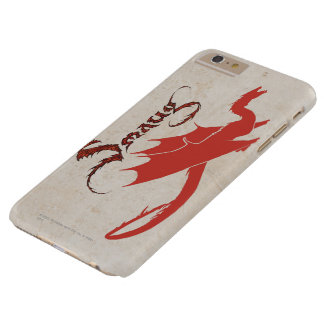 SMAUG™ Silhouette & Name Barely There iPhone 6 Plus Case