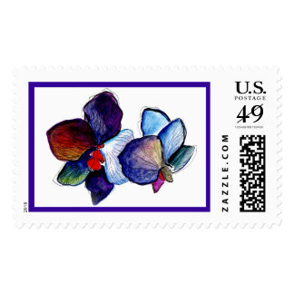 smBlueOrchids Postage