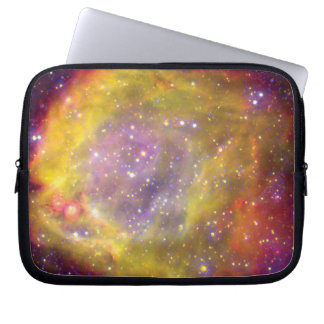 SMC WR7 Binary Star Nebula - Hubble Space Photo Laptop Sleeve