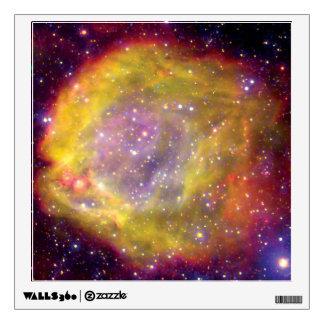 SMC WR7 Binary Star Nebula - Hubble Space Photo Wall Sticker