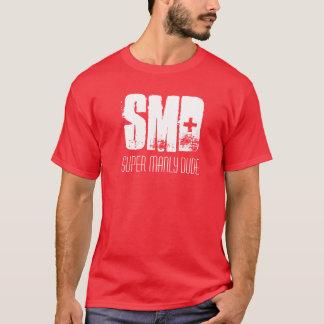 SMD, camiseta de hombres estupenda del tipo
