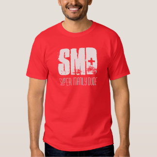SMD, camiseta de hombres estupenda del tipo Remera