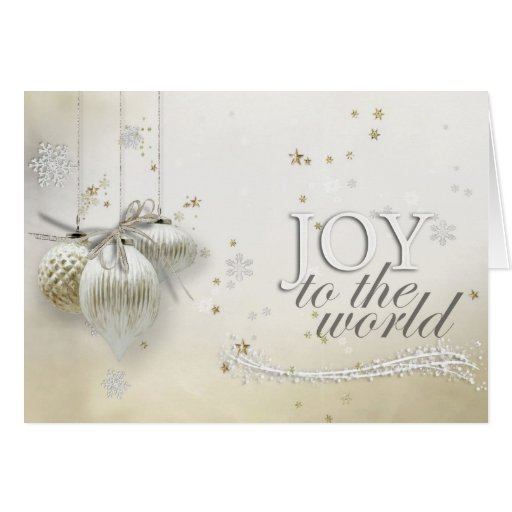 SMDJoy To The World 1 Greeting Card