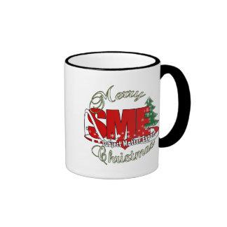 SME CHRISTMAS Subject Matter Expert Ringer Mug
