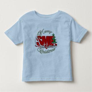 SME CHRISTMAS Subject Matter Expert Toddler T-shirt