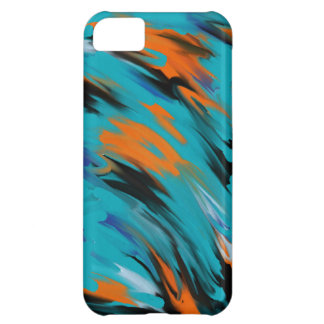smeared colors iphone case