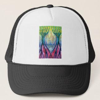 Smeared Morning Trucker Hat