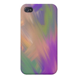 Smeared Paint iPhone 4 case