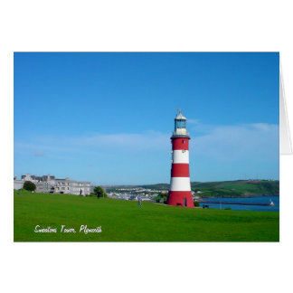 Smeaton's Tower, Plymouth Hoe Card