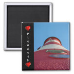 Smeaton's Tower, Plymouth Hoe Fridge Magnet
