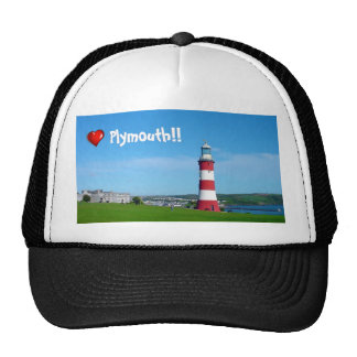 Smeaton's Tower, Plymouth Hoe Trucker Hat