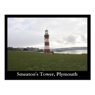 Smeaton's Tower, Plymouth Postcard