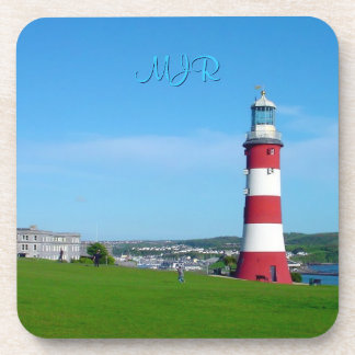 Smeaton's Tower, The Hoe, Plymouth Beverage Coaster