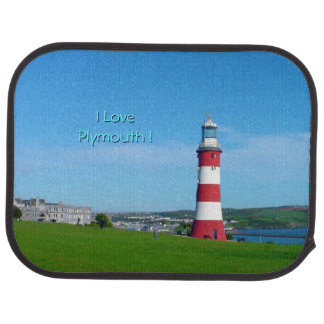 Smeaton's Tower, The Hoe, Plymouth Car Floor Mat