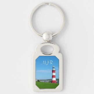 Smeaton's Tower, The Hoe, Plymouth Keychain
