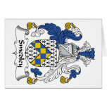 Smedley Family Crest Greeting Cards