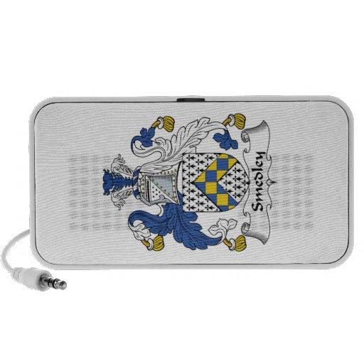 Smedley Family Crest Mini Speakers