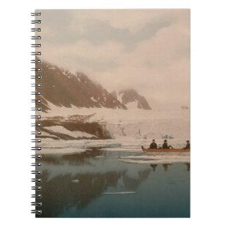 Smeerenburg I Svalbard Noruega Cuaderno