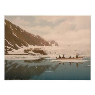 Smeerenburg I, Svalbard, Noruega Impresión Fotográfica