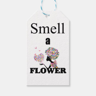 Smell a Flower Gift Tags