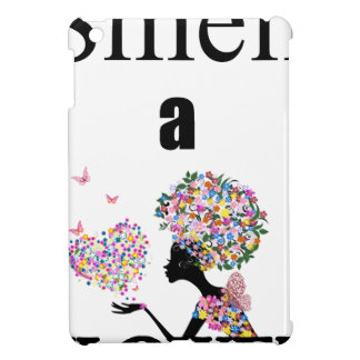 Smell a Flower iPad Mini Cover