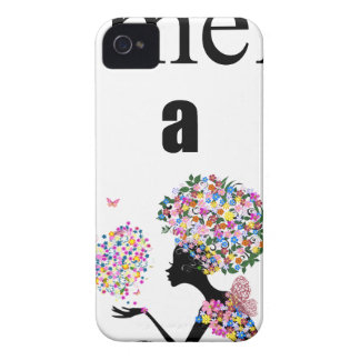 Smell a Flower iPhone 4 Cover
