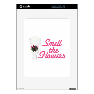 Smell Flowers Decals For The iPad