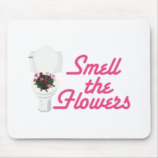 Smell Flowers Mouse Pad