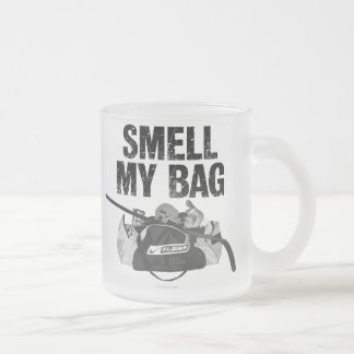 Smell My Bag frosted beer mug