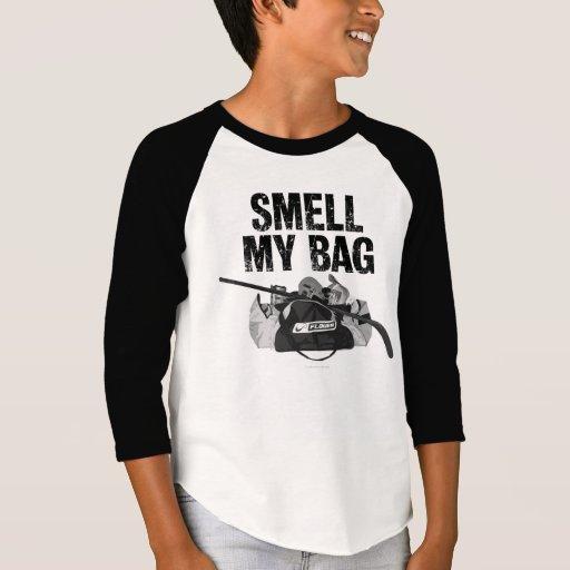 smell my bag hockey stench t shirt zazzle