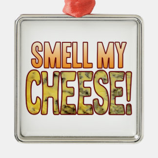 Smell My Blue Cheese Metal Ornament