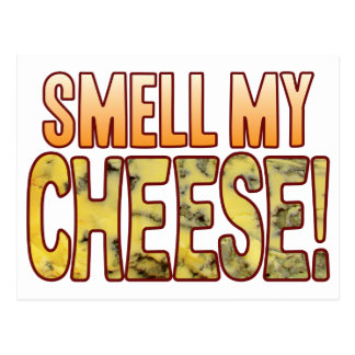Smell My Blue Cheese Postcard