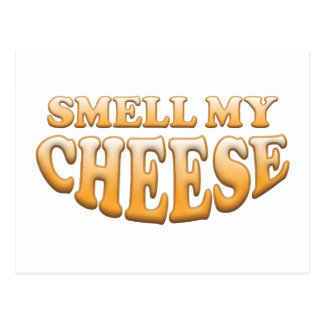 Smell My Cheese Post Card