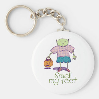 Smell my feet Ghoulie Keychain
