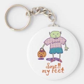 Smell my feet Keychain