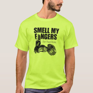 Smell My Fingers (hockey) T-Shirt