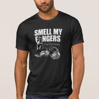 Smell My Fingers (hockey) T Shirt