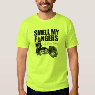 Smell My Fingers (hockey) Tee Shirt