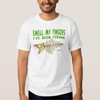 SMELL MY FINGERS light shirt