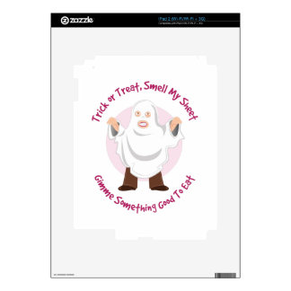 Smell My Sheet Decals For iPad 2
