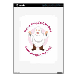 Smell My Sheet Decals For iPad 3