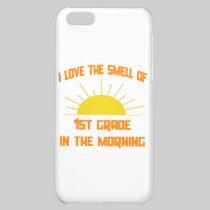 Smell of 1st Grade in the Morning Cover For iPhone 5C