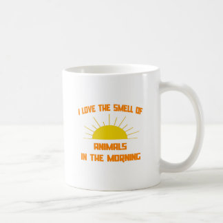 Smell of Animals in the Morning Coffee Mug