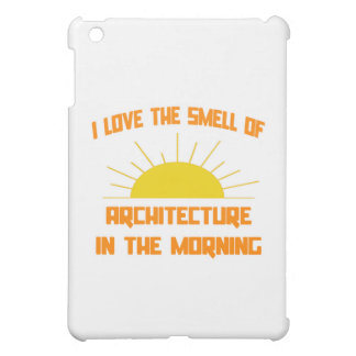 Smell of Architecture in the Morning Cover For The iPad Mini