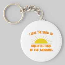 Smell of Architecture in the Morning Key Chain