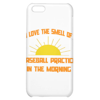 Smell of Baseball Practice in the Morning iPhone 5C Cover